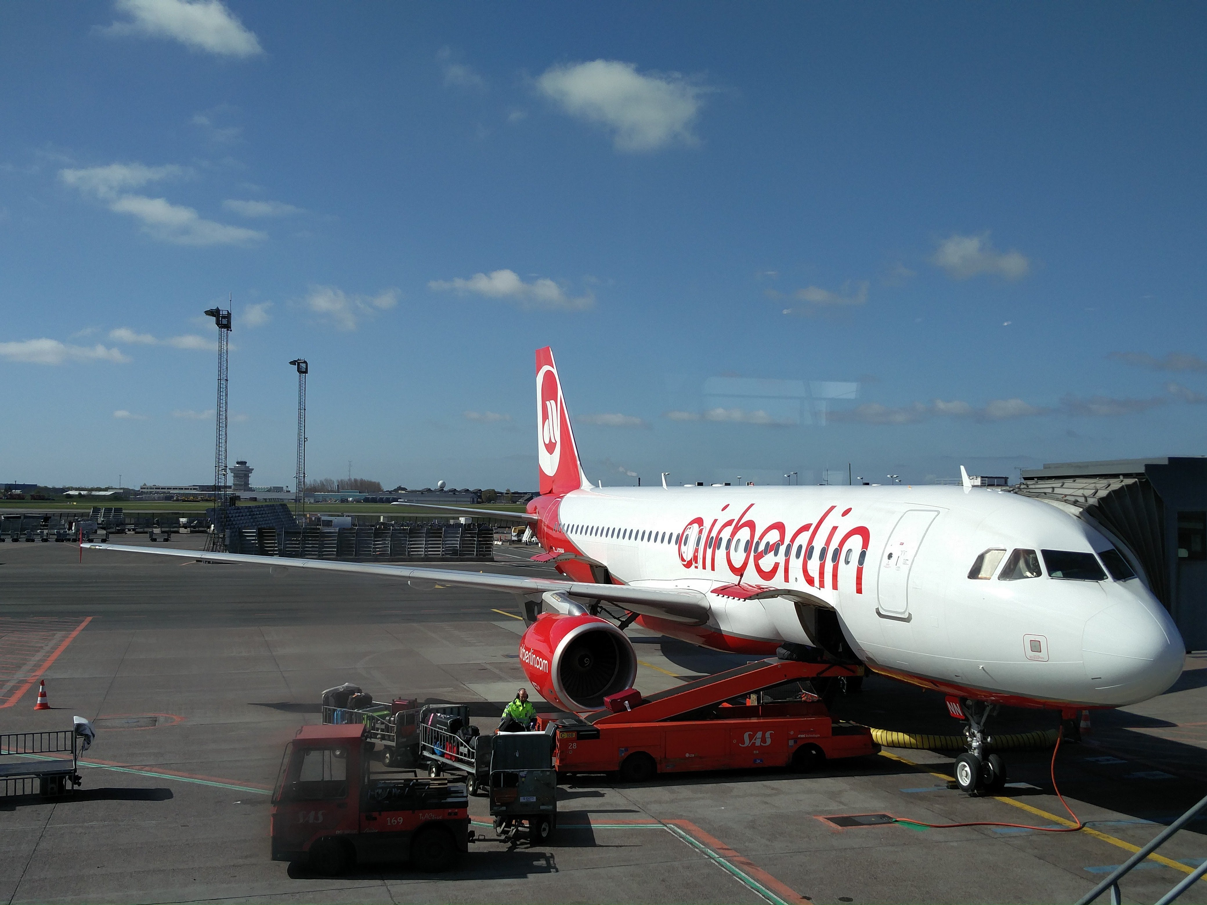 airBerlin plane ready to take off