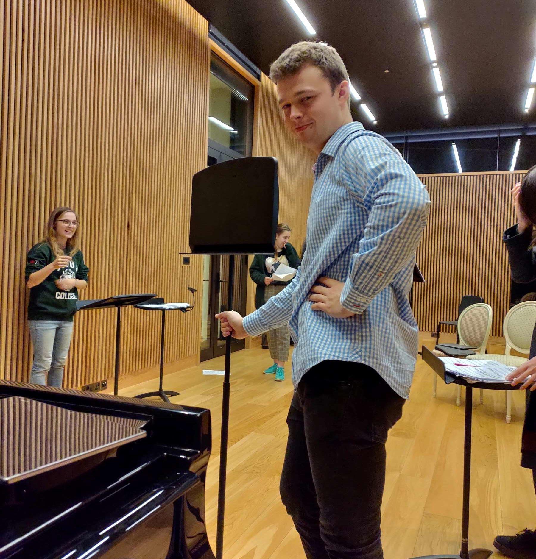 Oxford Contemporary Opera rehearsal